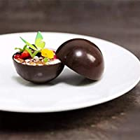 homEdge Stampo in silicone extra large a 5 cavità semi-sfera, stampo da 3 confezioni per fare cioccolato, torta, gelatina, mousse a cupola #4
