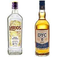 Larios - Ginebra Mediterranéa, 0.7 l + Dyc - Whisky 8A, 40º, 0.7 L