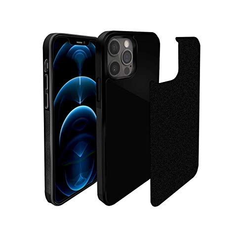 CloudValley Anti Gravity Phone Case for iPhone 12 Pro Max (6.7 inch), Goat Case, Magical Nano Technology, Stick to Glass, Tile Wall, Smooth Flat Surface with Dust Proof Film, Free Hands