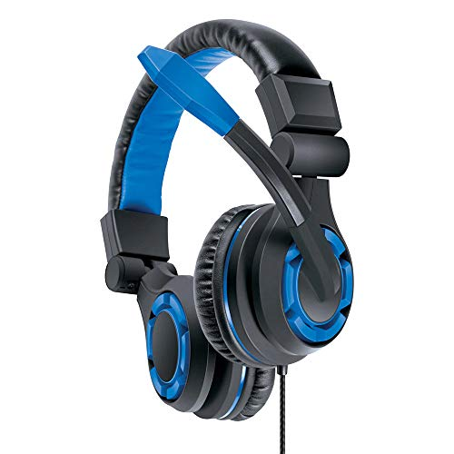 dreamGEAR Grx-340 High Performance, Wired Stereo Gaming Headset for PS5/PS4: 40mm Drivers, Compatible with Xbox One/Series X and S/Switch