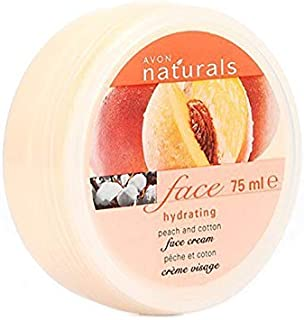 Avon Women's Natural Hydrating Peach And Cotton Face Cream 75 ml