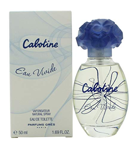 Cabotine de Gres Eau Vivid Eau de Toilette Spray para ella, 50 ml