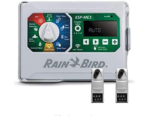 Rain-Bird Controller Indoor Outdoor Lawn Irrigation Sprinkler Timer ESPME3 (+ 2 Modules Only)