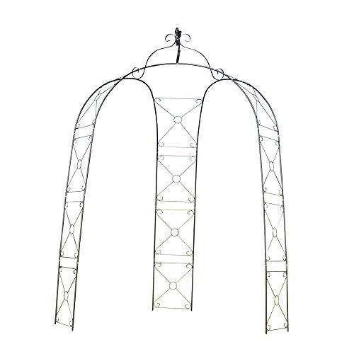 バラアーチ 鉄製三脚アーチ 1個 ガーデンアーチ ローズ アーチ ガーデニング アイアン 3脚 国華園