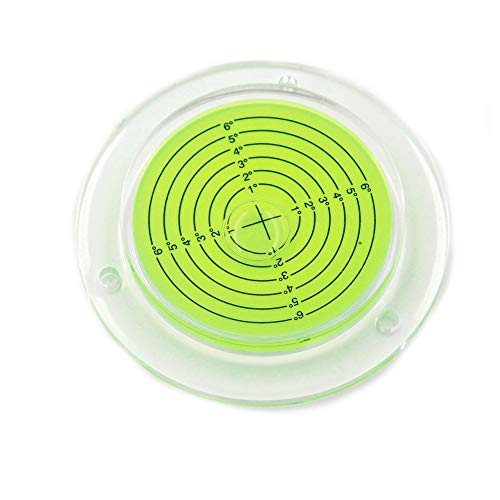 Chiloskit - Trípode circular circular circular circular (100 mm de diámetro, con burbuja de burbuja