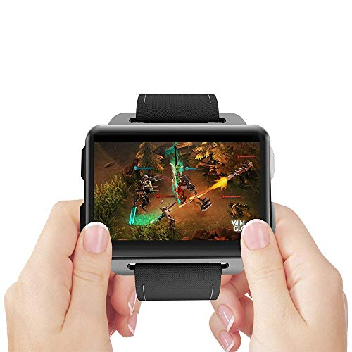 LayOPO LEM4 PRO Smart Watch, WiFi 3G Android 5.1 Phone Watch 1GB 16GB, 2.2inch Big Screen, 1200 MAh Large Capacity Battery GPS Multi Function Watch