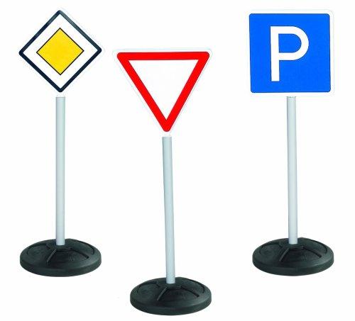 BIG - 1196 - Panneaux de signalisation - 3 pièces