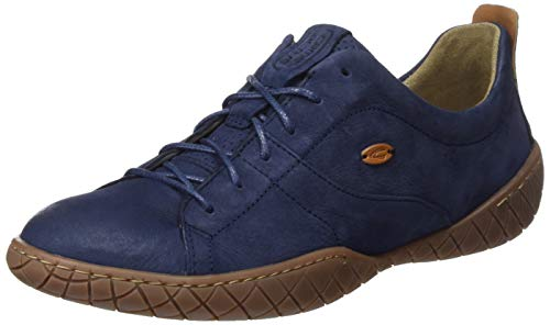 camel active Damen Inspiration 70 Sneaker, Blau (Jeans 3), 38 EU