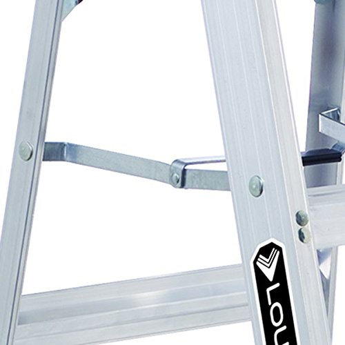 Louisville Ladder AS3004 Aluminum 4-Foot Ladder 300-Pound Duty Rating, 4 Feet