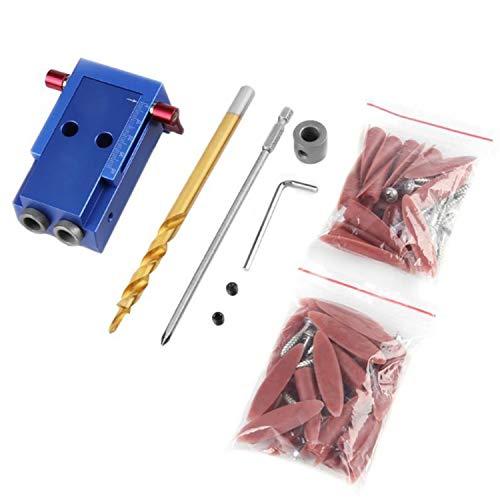 yaohuishanghang Crimpwerkzeug 9,5 MM Puncher Schräge Loch Positionierung Punch Clamp DIY Holzbearbeitungswerkzeuge Crimpmaschine