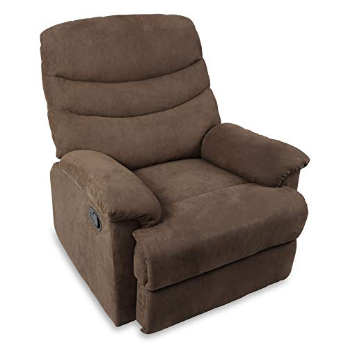 Recliner Chair, Microfiber Fabric Recliner Sofa Chair for Living Room,...