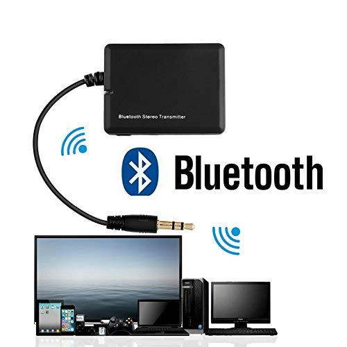 Etbotu 3,5 mm Bluetooth Audio Transmitter Adapter voor koptelefoon PC TV MP3