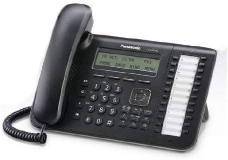Free shipping New Panasonic KX-NT543 Black 3-Line SALENEW very popular! Backlit LCD 24 w IP Phone Button