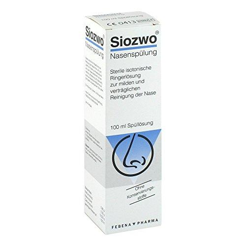 Siozwo Nasenspülung konservierungsstofffrei, 100 ml