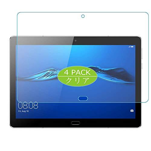 VacFun 4 Piezas HD Claro Protector de Pantalla Compatible con Huawei MediaPad M3 Lite 10.0 10', Screen Protector Sin Burbujas Película Protectora (Not Cristal Templado) New Version