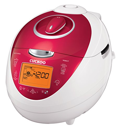 Cuckoo CRP-N0681F 6 Cups Electric Rice Cooker,...