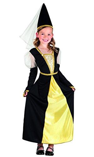 falksson Para-disfraz Piccolo Burgfräulein 2 tlg.