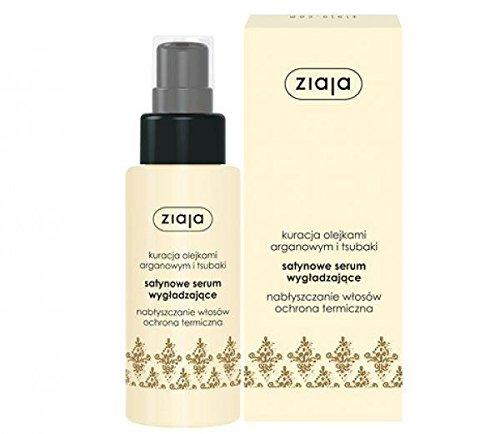 Ziaja - Sérum para alisar el cabello con aceite de argán y