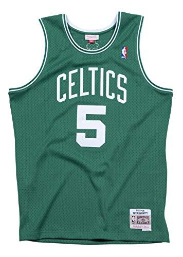 Mitchell & Ness Boston Celtics Kevin Garnett Swingman Jersey (L, Green)