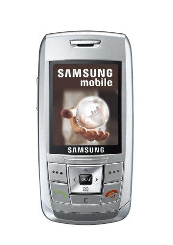 Samsung SGH-E250 Handy (VGA-Kamera, Bluetooth, uTrack) Silber
