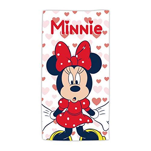 ARDITEX WD13588 Toalla de Microfibra de 70x140cm de Disney-Minnie