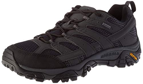 Merrell MOAB 2 GTX, Zapatillas de Senderismo Hombre, Gris (Granito), 44 EU