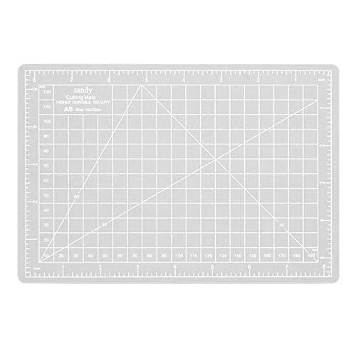 Fannty Placa de Corte A5 de una Cara 22 * 15 cm Placa de Corte A5 Compatible para Escultura de Papel
