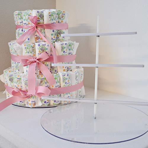 EZ Diaper Cake - Baby Shower Diaper Cake Birthday Cake Kit