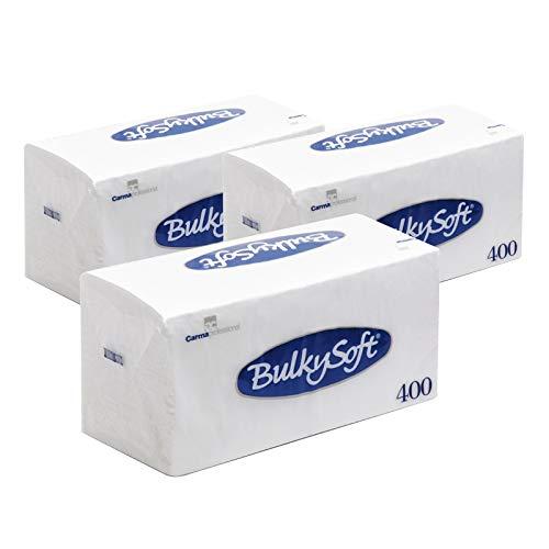 Palucart 1200 tovaglioli di carta monovelo 33x33 pura cellulosa 3cf da 400 tovaglioli carta