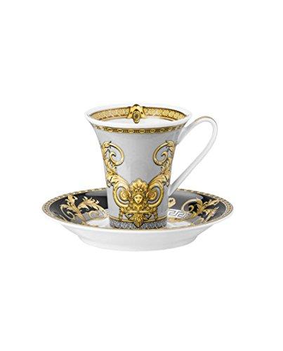 Versace Prestige Gala - Juego de tazas de café (2 unidades)
