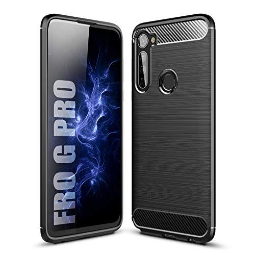 SCL Hülle für Moto G Pro Hülle Motorola G Pro Hülle, [Schwarz] Handyhülle Exquisite Serie-Carbon Design Schutzhülle mit Anti-Kratzer & Anti-Stoß Absorbtion Technologie, Geeignet für Stylus