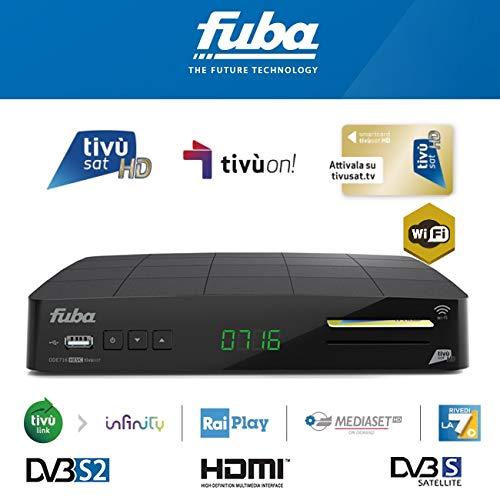 Decoder Tivùsat ODE716WIFI HD Fuba