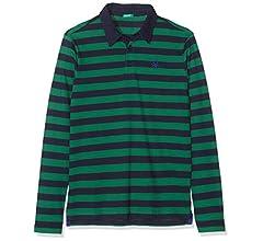 United Colors of Benetton Funzione B3 Polo, Multicolor (Righe BLU ...
