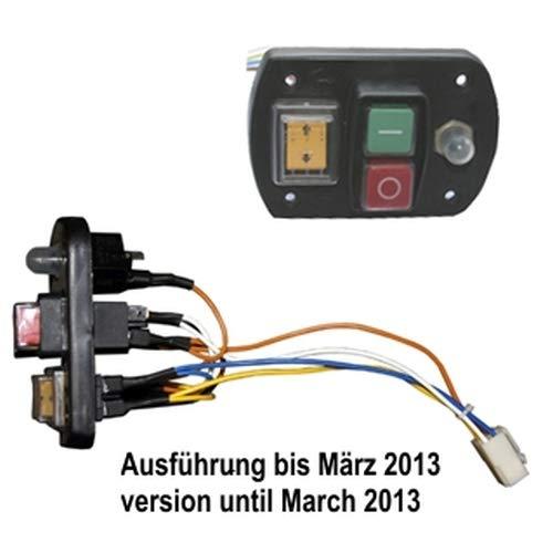 ATIKA Ersatzteil Ein-Aus-Schalter (bis 03/13) für Gartenhäcksler ALF 2600 *NEU*