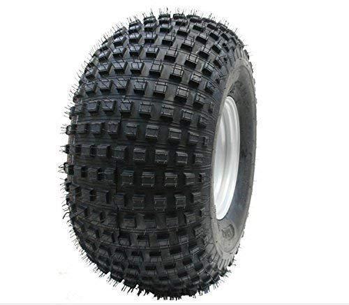 Parnells 22x11.00-8 Knobby Reifen auf 4 Bolzen Felge - Atv Anhänger - Vierfach-Rad 100mm Pcd Felge