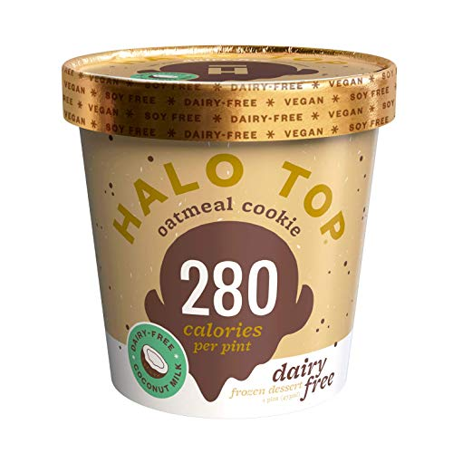 Halo Top, Dairy-Free Oatmeal Cookie, Pint (4 count)