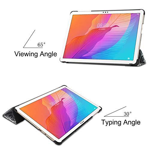 Lobwerk Case für Huawei Honor Tablet 6/MatePad T10/T10S 10.1 Zoll Schutzhülle Tasche mit Standfunktion und Auto Sleep/Wake Funktion