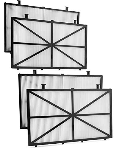 Future Way Ultra-Fine Filter Compatible with Dolphin m400, m500, and Nautilus CC Plus, 4-Pack Robotic Pool Cleaner Filters Replacement 9991432-R4
