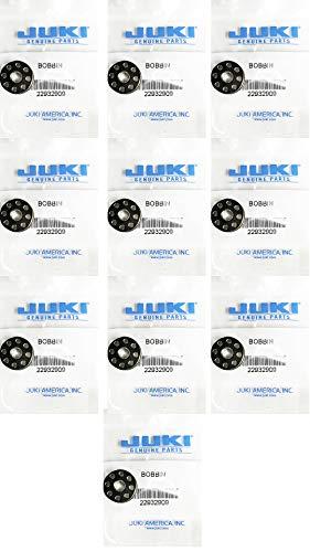 Juki Single Needle Sewing Machine Bobbins 10 Pack (Original Juki Part) Made in Japan