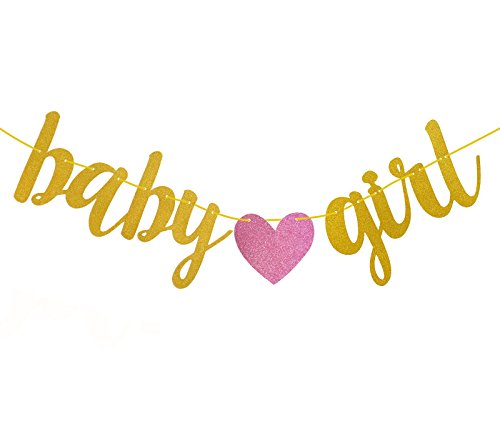 Fecedy Gold Glitter Baby Girl Banner For Baby Shower Buy Online In Aruba Fecedy Products In Aruba See Prices Reviews And Free Delivery Over 120 ƒ Desertcart