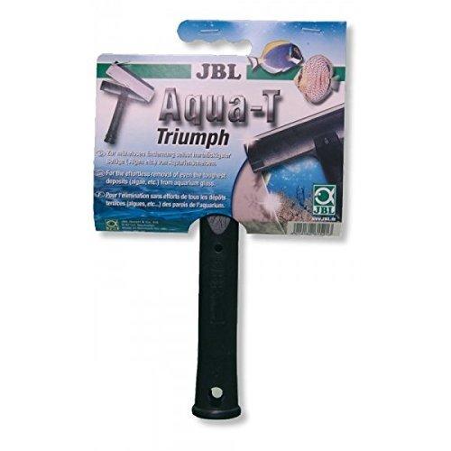 JBL ruitenreiniger met roestvrij stalen mes, Aqua-T, Ruitenreiniger met roestvrijstalen mes en rubberen rasp, Aqua-T Triumph