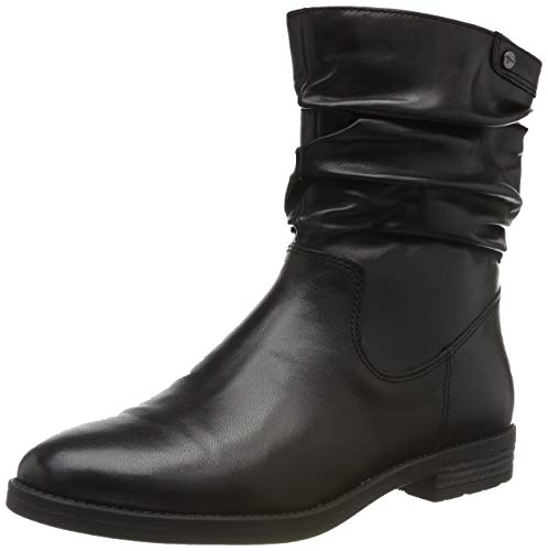 Tamaris Damen 1-1-25014-23 Biker Boots, Schwarz (Black 1), 36 EU