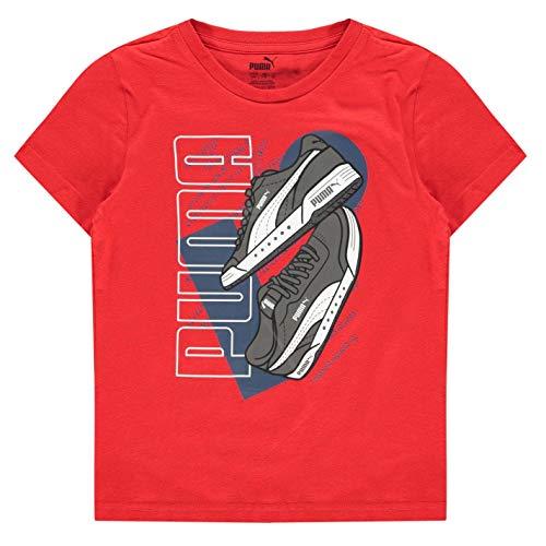 Puma Sneaker QT - Camiseta de manga corta para niño