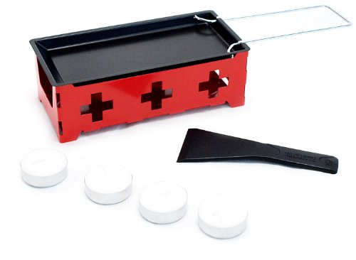 Nouvel 1er Raclette Heat Cheese silber/rot one size