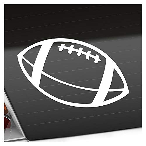 Kiwistar Football 15 x 11 cm IN 15 Farben - Neon + Chrom! Sticker Aufkleber