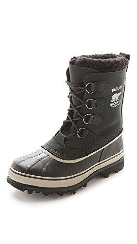 Sorel Herren Boots, Caribou, schwarz (tusk), Größe: 45