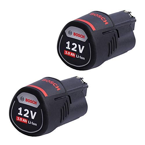 Bosch Professional 12V System Akku-Set 2x GBA 12V 3.0Ah Akku (im Karton)