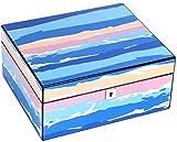 PANGPANGDEDIAN Caja de Cedro Creativo Cedar de Madera Caja de hidratación de Madera con humidificador e higrómetro Caja Decorativa
