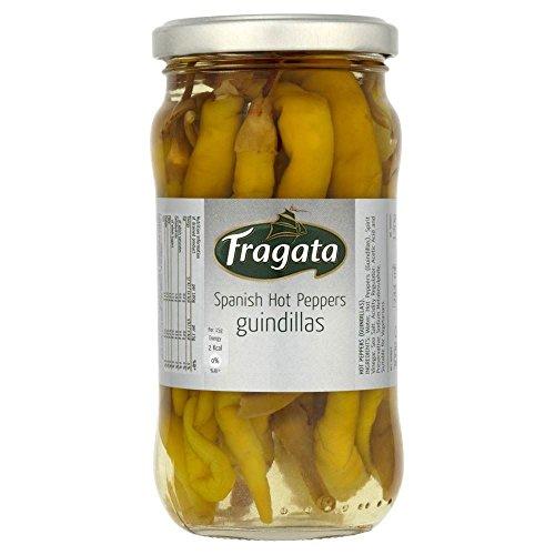 Fragata Spanisch Hot Peppers - Guindillas (300 g) - Packung mit 6