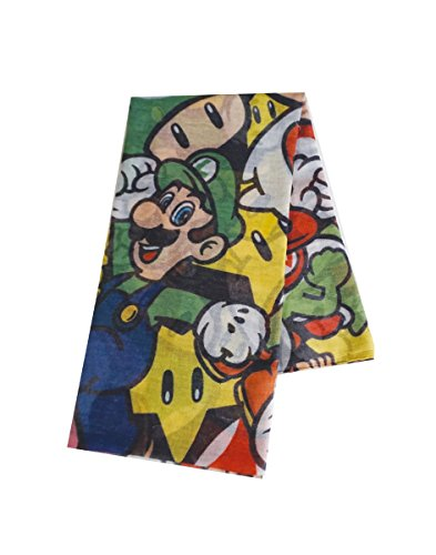 Meroncourt Nintendo Foulard Super Mario - All Characters Fashion